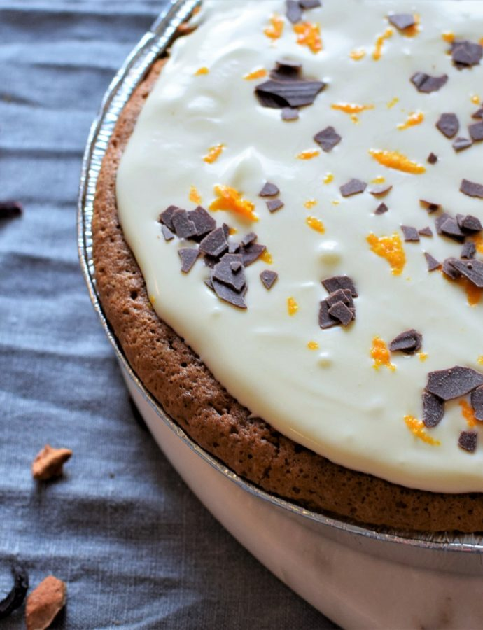 Carrot & Butternut Cake with Crème Cheese Frosting