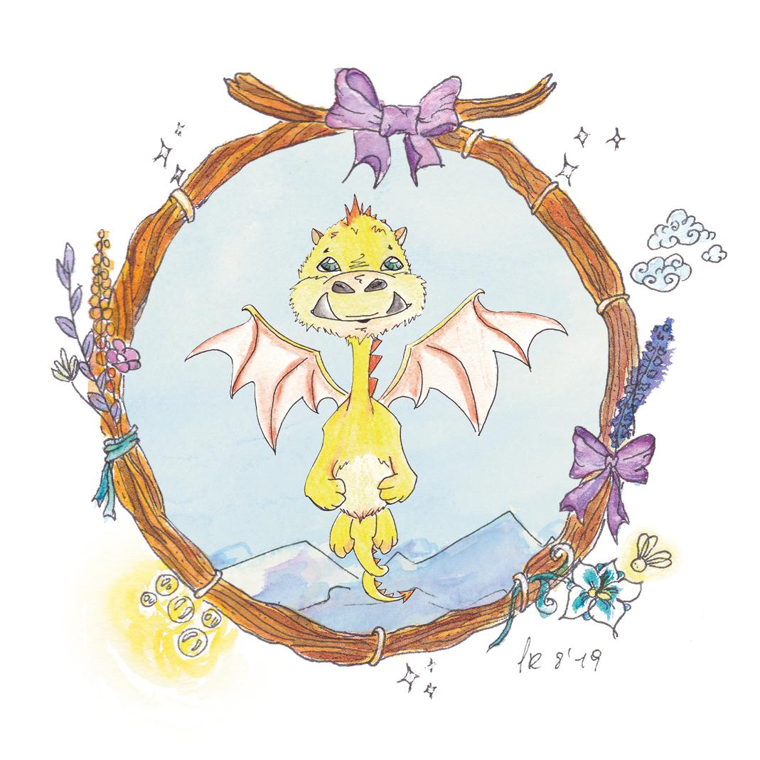 Der beherzte kleine Drache Sput will die gestohlenen Zauberperlen mit Unterstützung der beiden Riesenkinder und der Traumelfe Frider zurückholen.