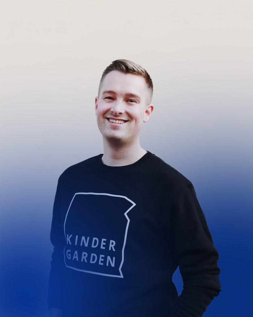 Porträtt på Johan Forslund