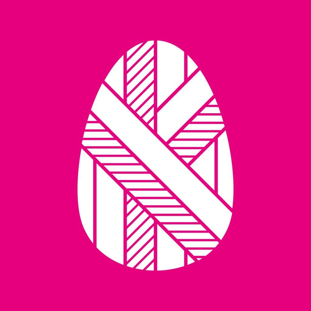 Logotyp för Kinderägget