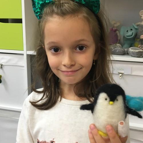 Kindergeburtstag Pinguin