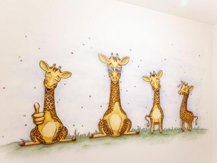 Giraffen kinderkamer