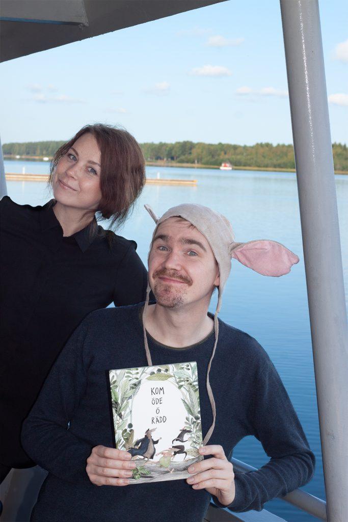 Fanny Felicia Svanberg och Bo Selinder. Foto: Lotta Karlsson