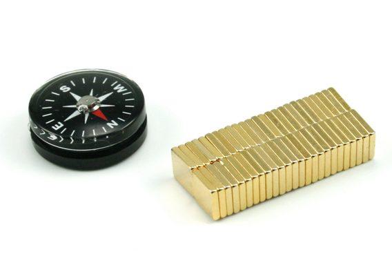 Losse magneten met kompas