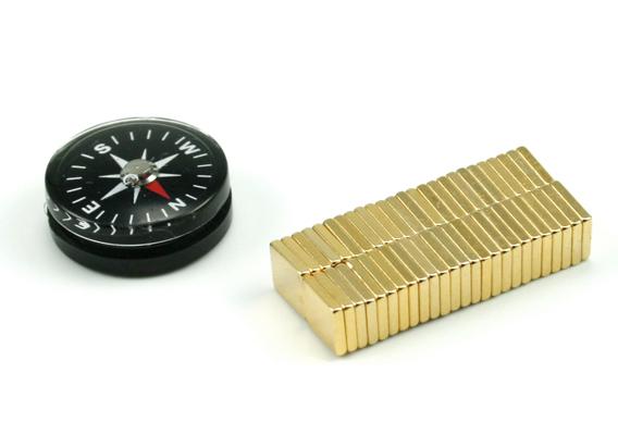 magneten met kompas
