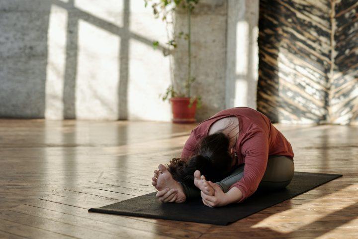 Spieren ontspannen houden met yoga
