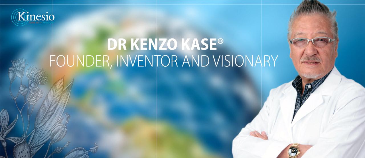 Dr Kenzo Kase header