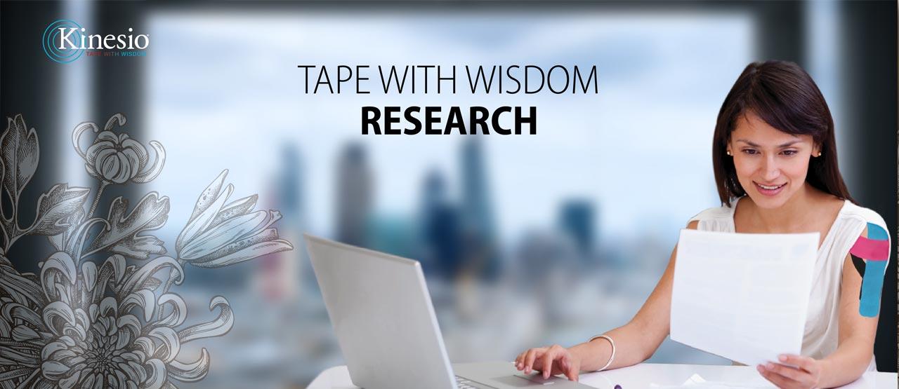 Kinesio gepubliceerd onderzoek header