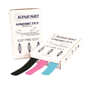 Kinesio Tape Tex Gold EDF Webcut