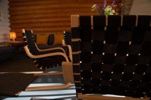 Kinkamon Saunalla istut mukavasti iltaa vaikka kokouksen tai juhlan merkeissä.