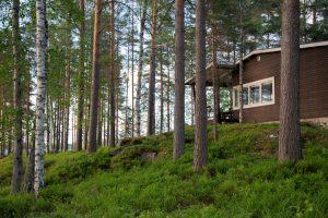 Kinkamon Aalto sijaitsee vain n. 9km Varkauden keskustasta ja on aivan luonnon ympäröimä.