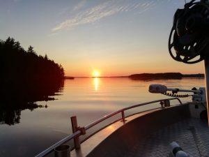 Kinkamon Aalto tarjoaa kalastusretkiä Unnukalla Kalamanian kanssa. Nauti samalla upeista maisemista!