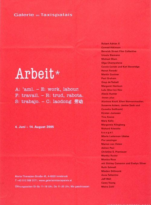 2005 ARBEIT [w?:k]