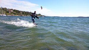 Kitesurfing i stockholm