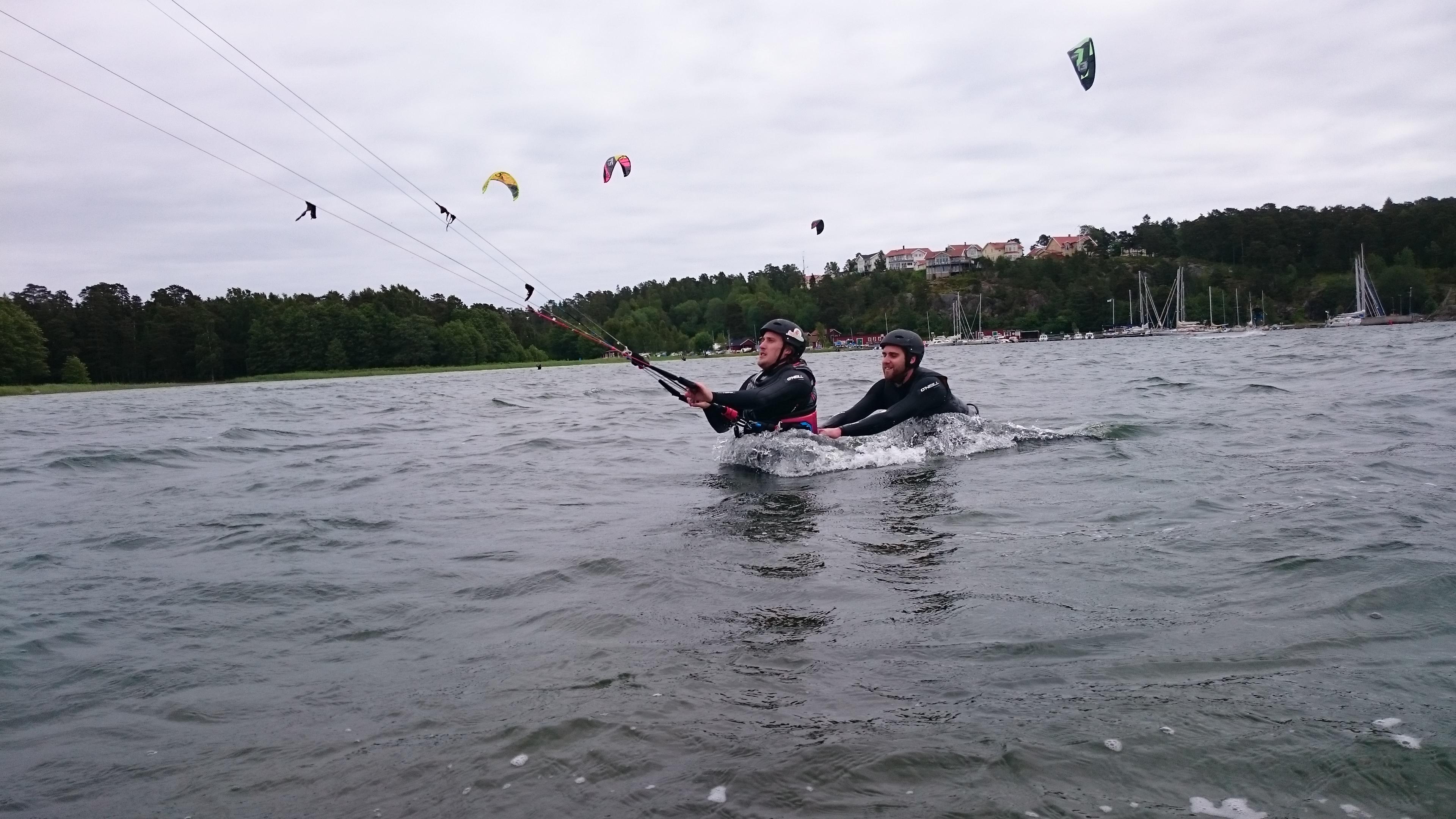 Kitesurfing dalarö