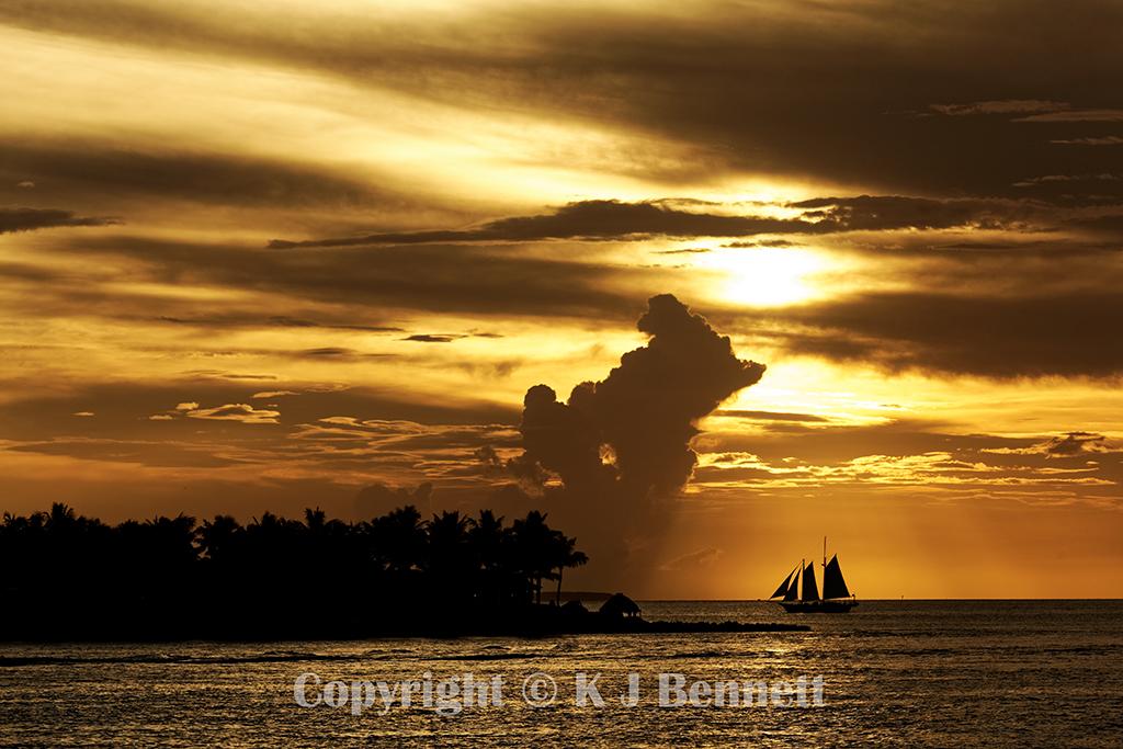 Sunset Key, Key West, Florida USA