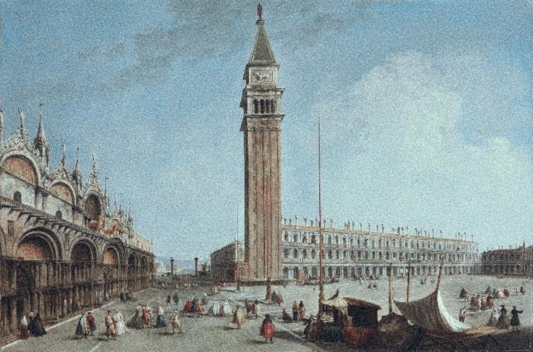 Venetië waar Johann David Heinichen een tijd verbleef