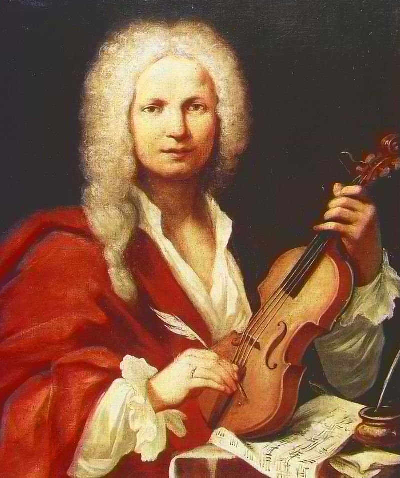 Antonio Vivaldi in 1723