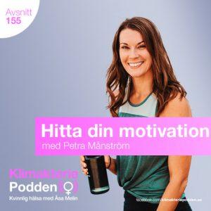 Petra månström motivation för träning och löpning