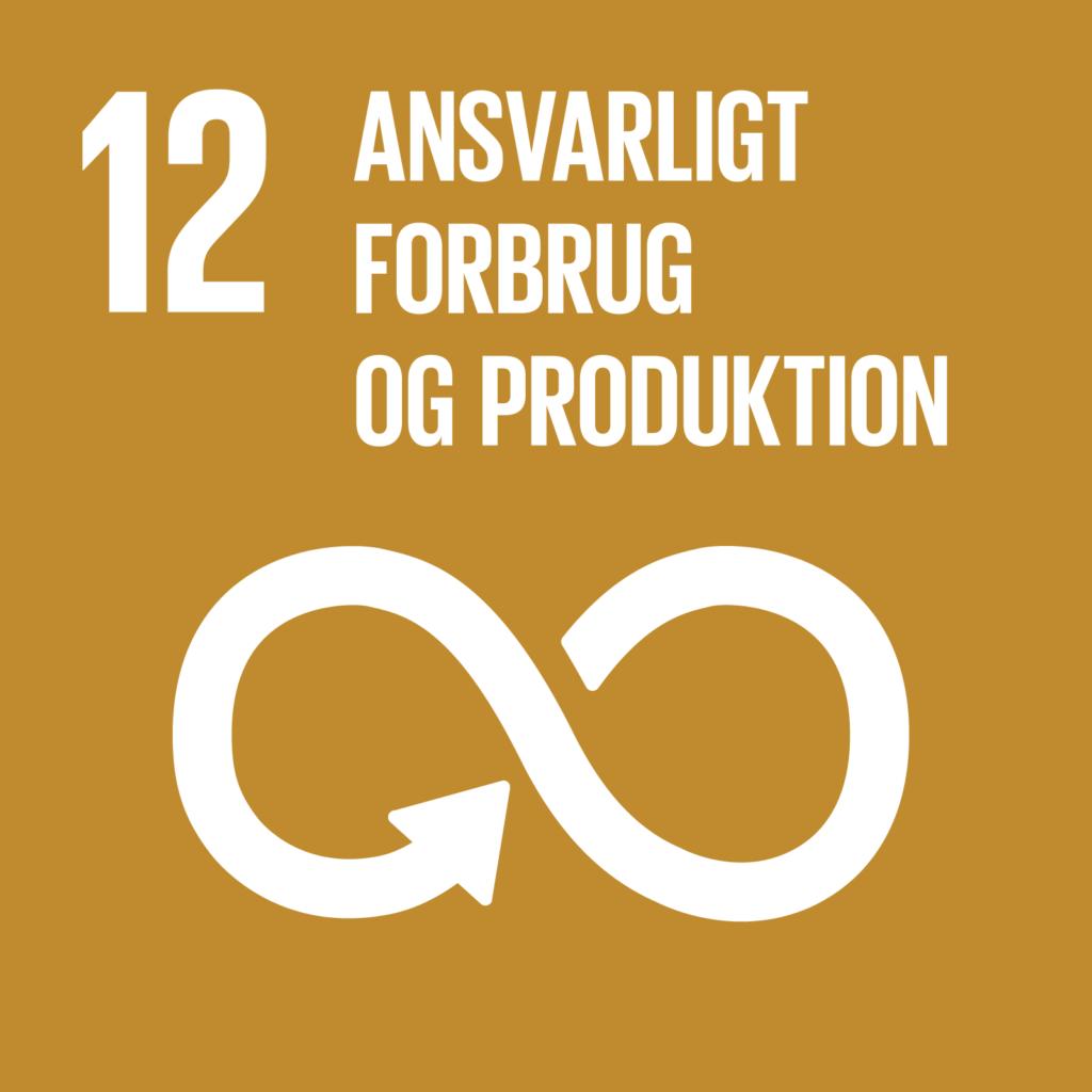 Verdensmål 12 - Ansvarligt forbrug og produktion