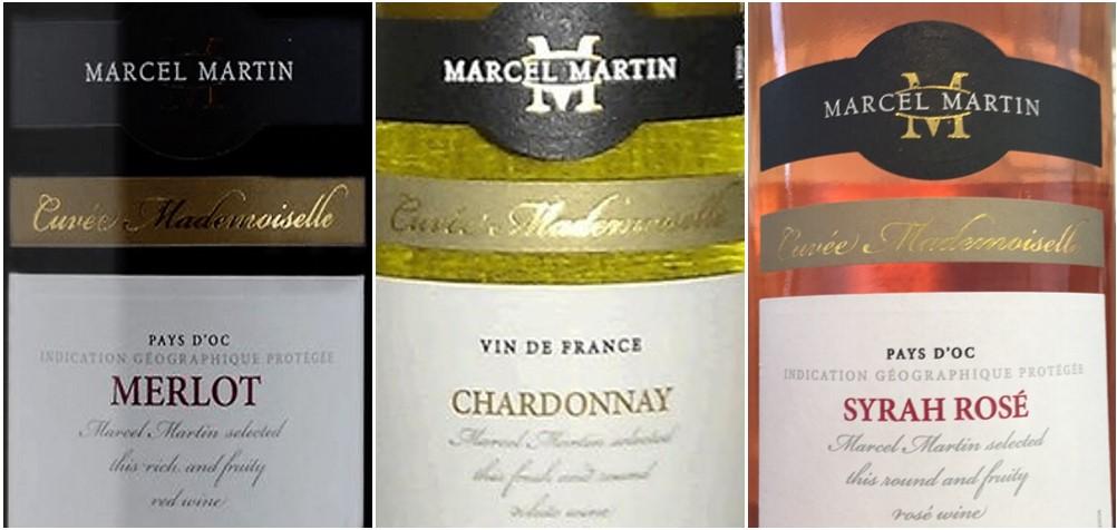 Karton gemengd rode, witte en rosé wijn