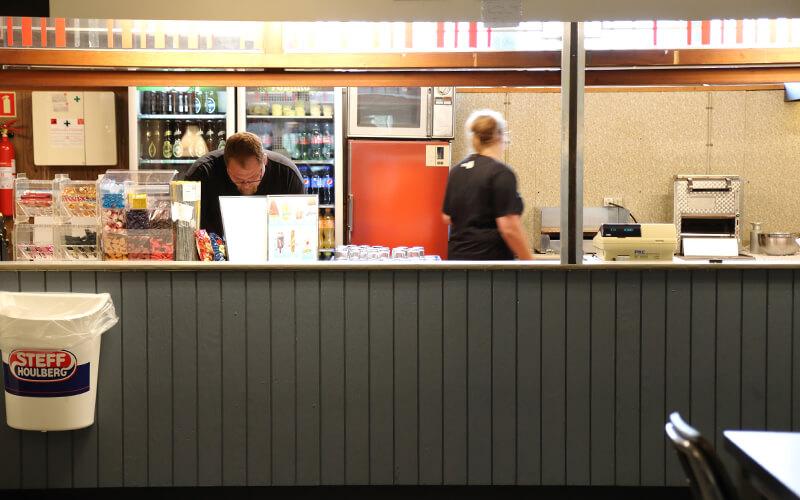 Kiosken i Knabstrup Hallen