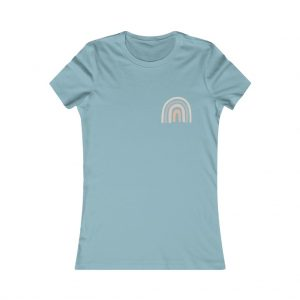 Women's Neutral Rainbow Tee
