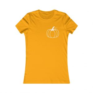 Women's Pumpkin Tee (white)