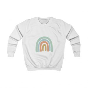 Kids Blue Rainbow Sweatshirt
