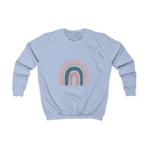 Kids Pink Rainbow Sweatshirt