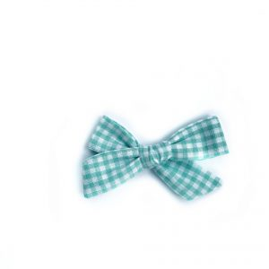 Mini Knot // Green Gingham