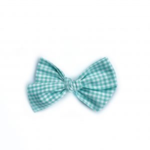 Chunky Knot // Green Gingham