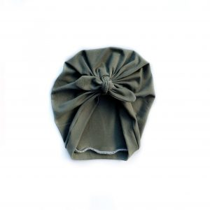 Turban // Ekologiskt Army Green