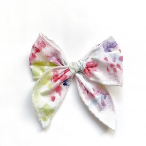 Belle Bow // Watercolor Burst