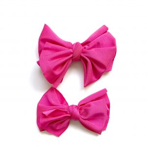 Party Knot // Pink Swim Bow