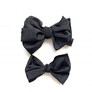 Party Knot // Black Swim Bow