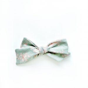 Chunky Knot // Green Floral