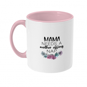 Two Toned Mom Mug (L)