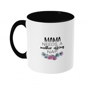 Two Toned Mom Mug (R)