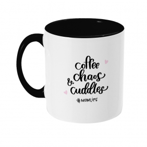 Two Toned Mom Life Mug (R)