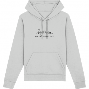 Boy Mama Fitted Hoodie