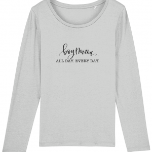 Boy Mama Long-sleeve  Tee