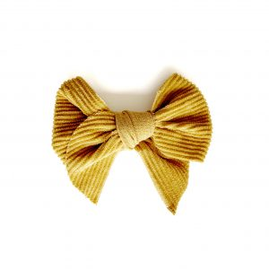 Belle Bow // Brick Corduroy