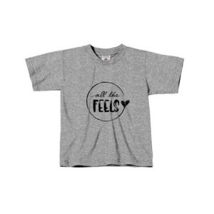 Kids T-Shirt // All the Feels