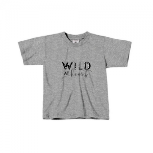 Kids T-Shirt // Wild at Heart