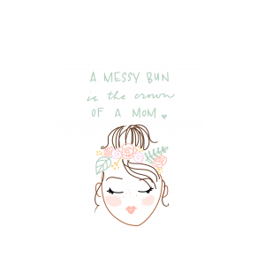 Sticker // Mom Crown
