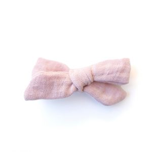 Mini Knot // Baby Pink Muslin