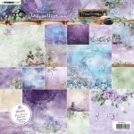 Jenine's Mindful Art Paper pad Time to Relax nr11 20*20