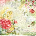 Roses Double-Sided Paper Sheet 30.5*30.5cm