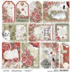Frozen Roses Frames & Tags Double-Sided Paper Sheet 12